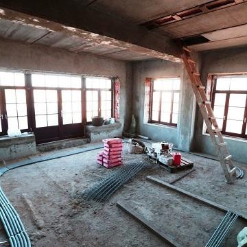 черновой ремонт в двухкомнатной квартире